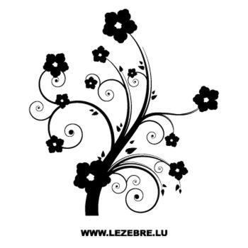 Stickers voiture Fleur, Déco Fleurs 6