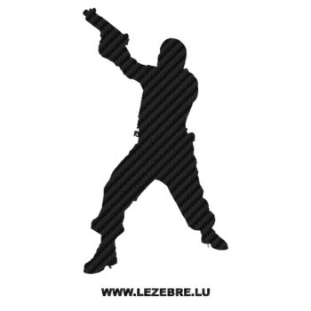 Soldier Carbon Decal