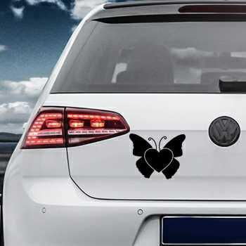 Butterfly Heart Volkswagen MK Golf Decal