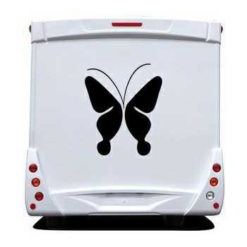 Butterfly Camping Car Decal
