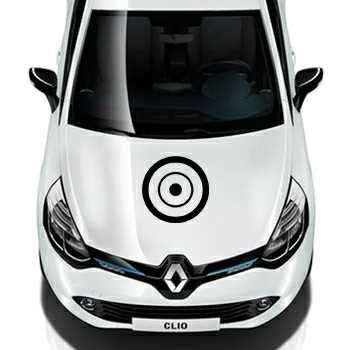 Round Circle Renault Decal