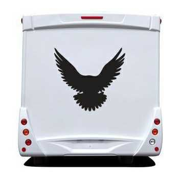 Eagle Camping Car Decal