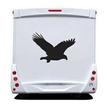 Eagle Camping Car Decal 2