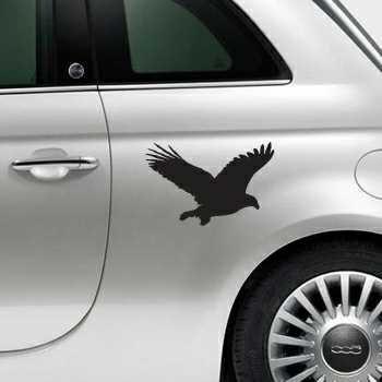 Sticker Fiat 500 Déco Aigle 2