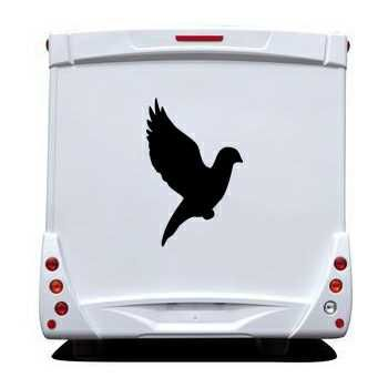 Dove Camping Car Decal