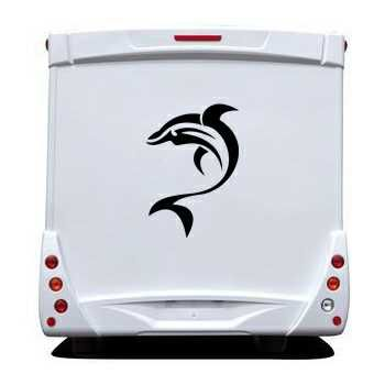 Dolphins Camping Car Decal 2