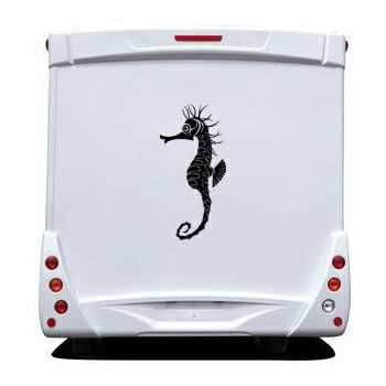 Fish Hippocampus Camping Car Decal