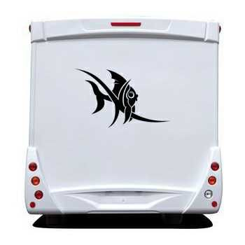 Catfish Camping Car Decal
