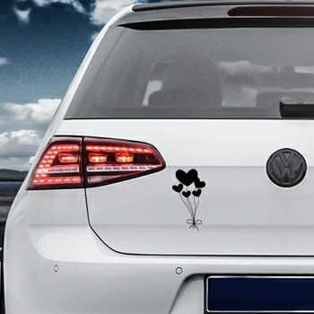 Hearts Balloons Volkswagen MK Golf Decal