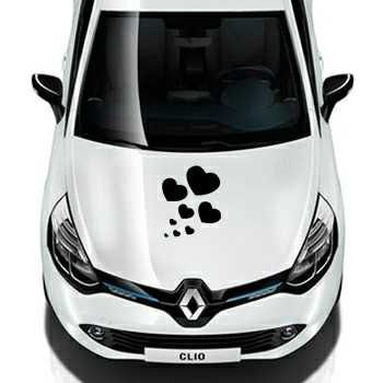 Hearts Renault Decal Set