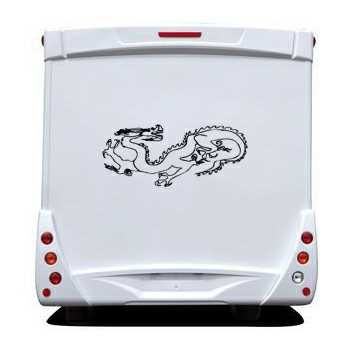 Dragon Camping Car Decal 2