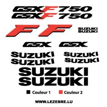 Kit Stickers Suzuki GSX F 750