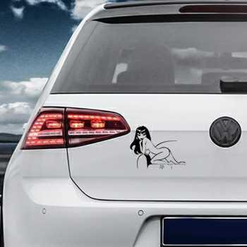 Pin Up 6 Volkswagen MK Golf Decal