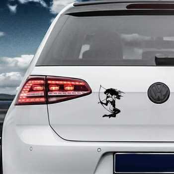 Pin Up 5 Volkswagen MK Golf Decal
