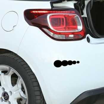 Sticker Citroen DS3 Auto tuning Bulles