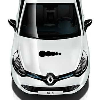 Tuning car Bubbles Renault Decal