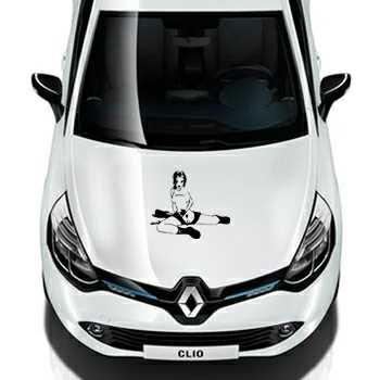 Pin Up 4 Renault Decal