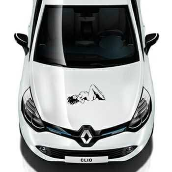 Pin Up Renault Decal