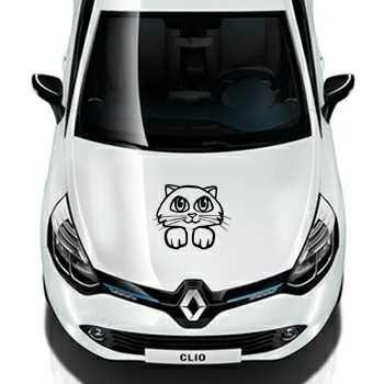 Cat Renault Decal
