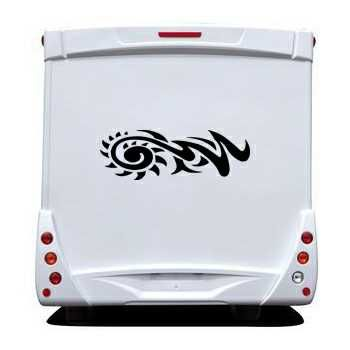 Tribal Tuning Camping Car Decal 2