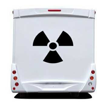 Sticker Camping Car Nucléaire