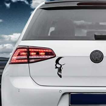 Skull Volkswagen MK Golf Decal 5