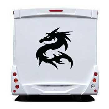Dragon Camping Car Decal 4