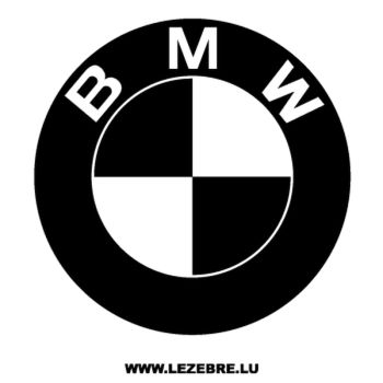 BMW Logo Decal 2