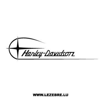 Harley Davidson Moto Decal 2