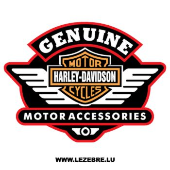 Harley Davidson Genuine Decal