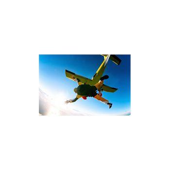 Sticker Déco Avion saut parachute