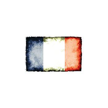 Sticker Deko Flagge Design Frankreich