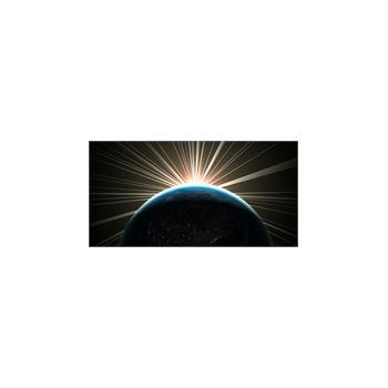 Sticker Déco Rayons de soleit et la Terre