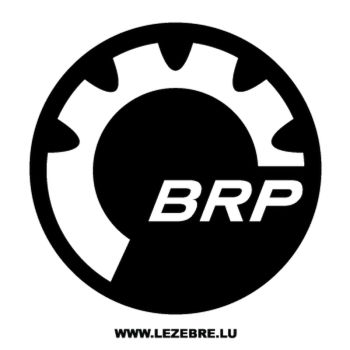 Sticker BRP Bombardier Recreational Products