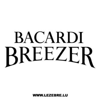 Sticker Bacardi Breezer 2