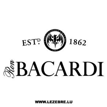 Sticker Bacardi 2