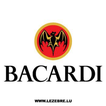 Sticker Bacardi 3