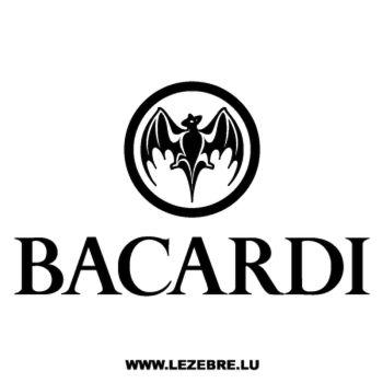 Sticker Bacardi 4