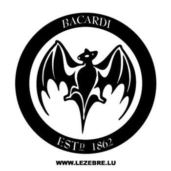 Sticker Bacardi