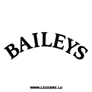 Sticker Baileys 2