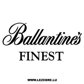 Sticker Ballantine's Finest