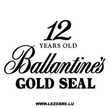 Sticker Ballantine's Gold Seal