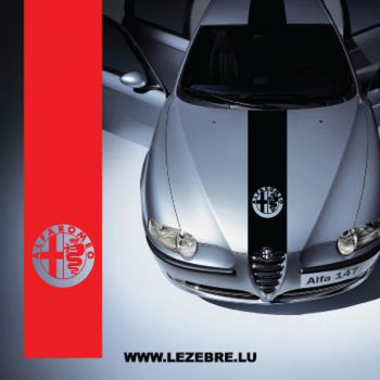Sticker Bande Alfa Romeo