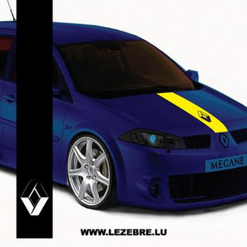 Sticker Bande Renault