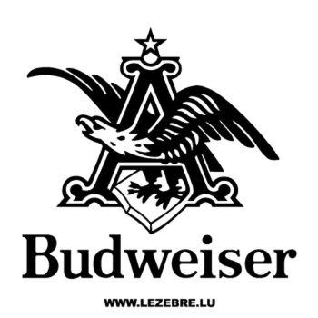 Sticker Budweiser
