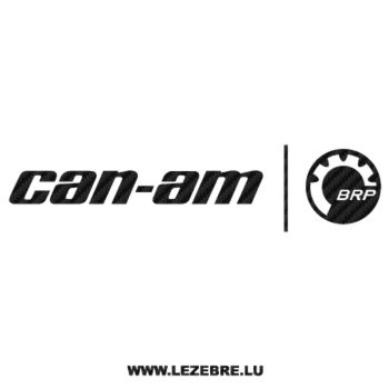 Can-am BRP Carbon Decal