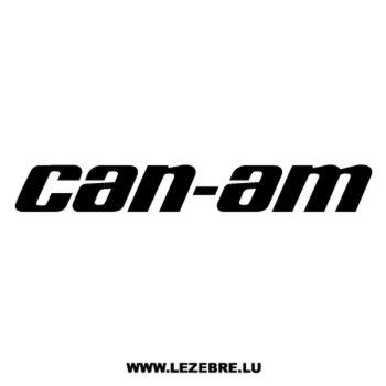 Can-am Logo Decal