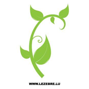 > Sticker Deco Plante