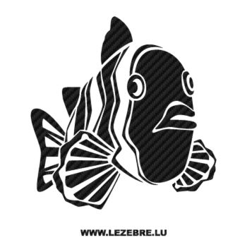 Fish Carbon Decal