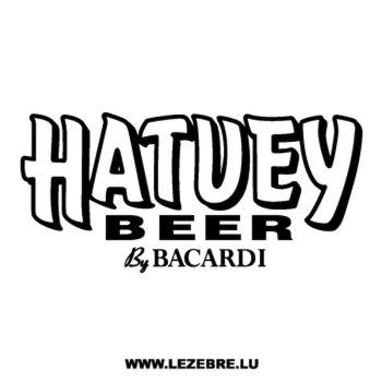 Sticker Hatuey Beer by Bacardi 2